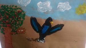 Vogel 2 Kinderkunstschule