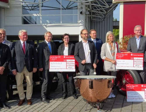 6.000 Euro für strahlende Kinderaugen!